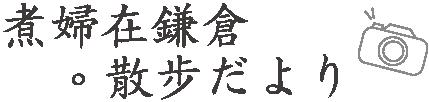 煮婦在鎌倉。散步だより